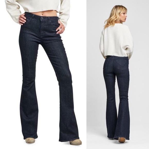aefb14c9289 Hudson Holly High Rise Flare Jeans Dark Wash. M_5bb4fc1745c8b300bb877139